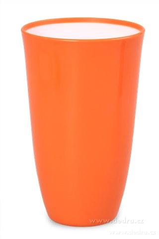 DA89742-Plastový kelímok 600 ml, oranžový