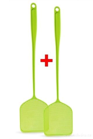 DA8978-2 ks MUCHOPLAC plácačka na muchy zelená