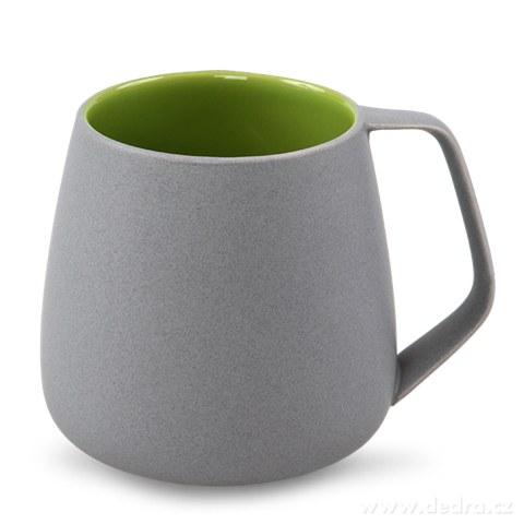 DA81002-BALI CERAMICS hrnček sivý / zelený