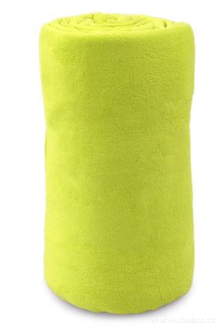 FC91144-LAGOON prikrývka jasne zelená 150 x 200 cm