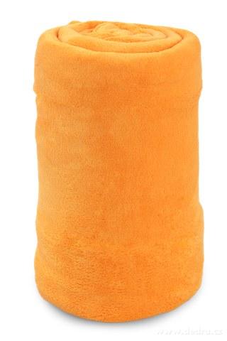FC91166-XXL LAGOON prehoz svietivo oranžový 200 x 230 cm