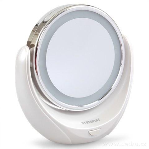 EL9127-Zväčšovacie kozmetické zrkadlo s LED osvetlením,  SYSTEMAT