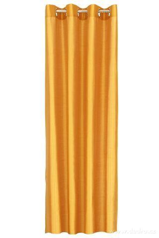 DA91522-Záves z pevnej nepriehľadnej tkaniny, medený