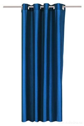 DA91527-Záves z nepriehľadnej tkaniny námornej modrý