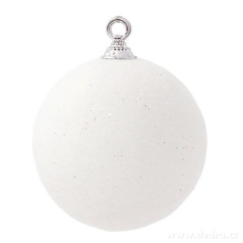 DA91822-1 ks XXL guľa 10 cm snehovo biela
