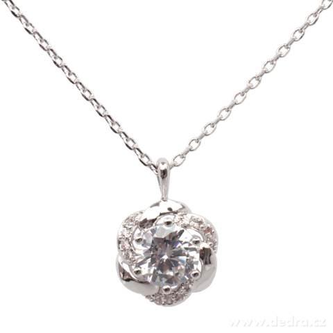 FC9216-náhrdelník rhodiováno