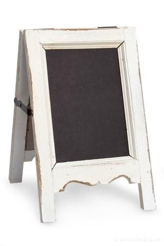 DA9299-Drevená tabuľa, na poznámky biela