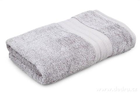 FC93174-Osuška z bavlneného froté svetlo šedá