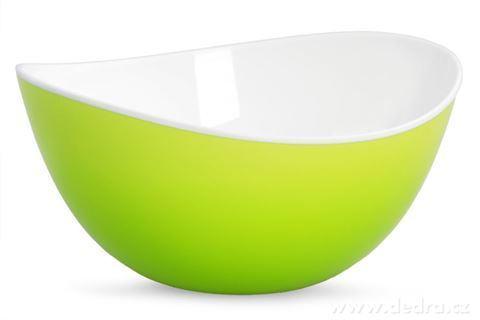 DA94511-XL Misa 2800 ml z odolného plastu zelená