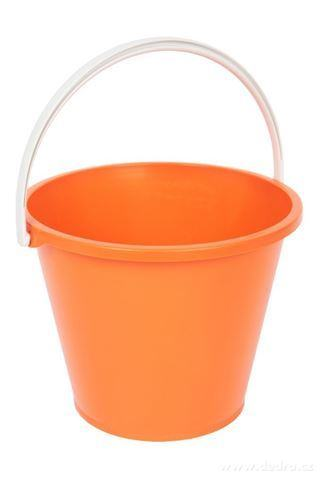 DA94574-Veľký vedro objem 10 litrov oranžový