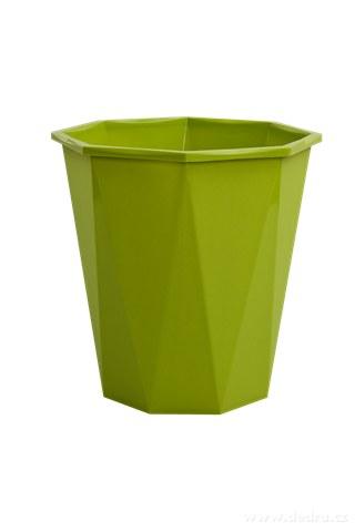 DA9459-Odpadkový kôš 6,5 L zelený