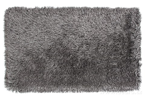 FC94742-9CM LONGHAIR KOBEREC strieborno čierny, 140x200 cm