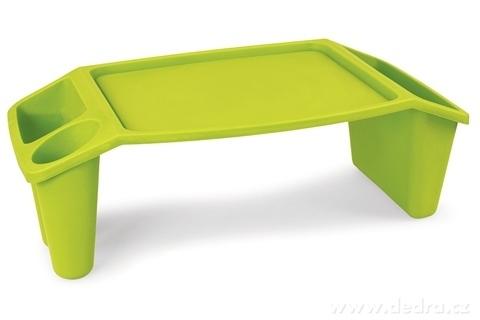 DA89823-Gaučostolek & postelostolek zelený prenosný stolík