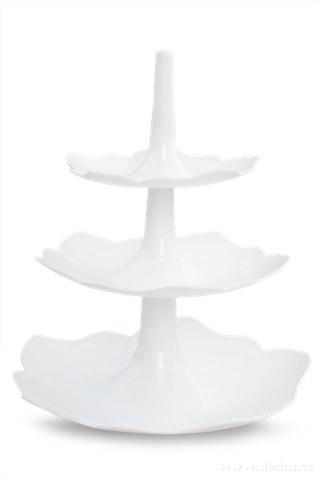 DA94311-Servírovací etažér biely
