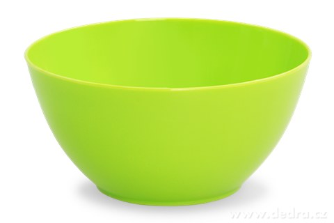 DA94361-4 ks MISKA 380 ml z odolného plastu zelená
