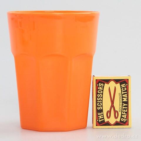 DA94374-3 ks OHNISKOVEJ NÁDOBKY 350 ml z odolného plastu oranžový