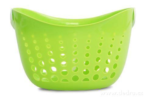 DA94381-KOLÍČKOVNÍK závesný košík na štipce zelený