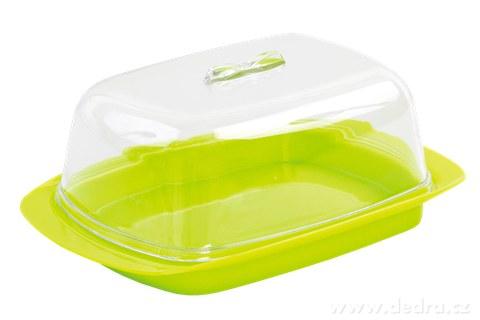 DA94391-MÁSLENKA dóza na maslo zelená