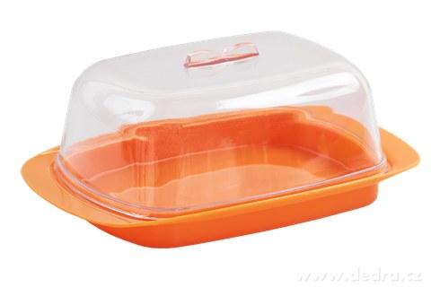 DA94394-MÁSLENKA dóza na maslo oranžová