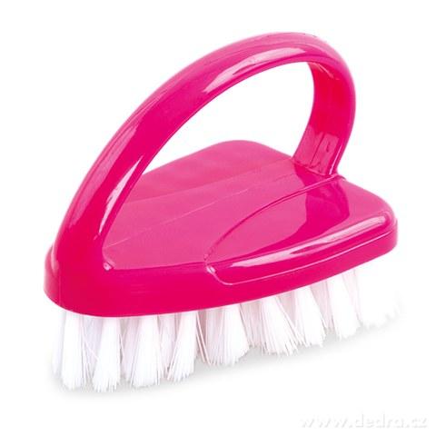 DA94433-KARTÁČ čistiace ružový