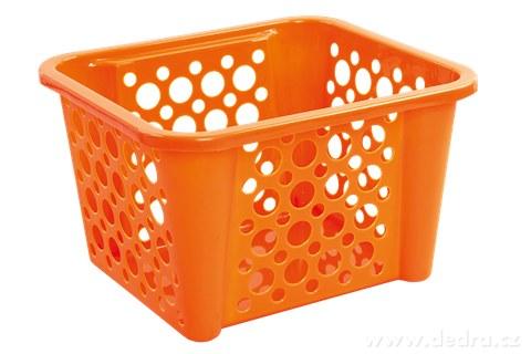 DA94454-BUBBLEŠTOS stohovateľný kôš oranžový