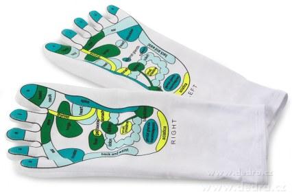 FC10053-Self acting gél & ponožky Nourishing & massage gélové ponožky
