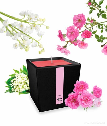 FC10403-Parfumia sviečka flower garden