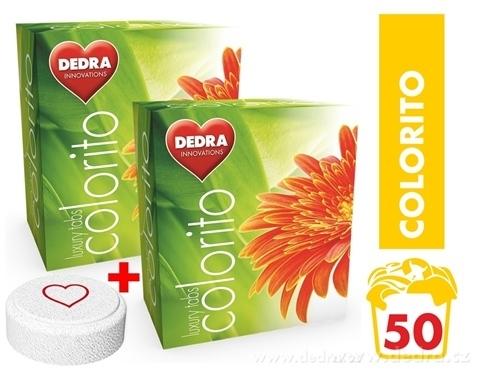 TC00123-COLORIT tablety na farebnú bielizeň, koncentrované