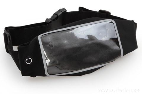 DA95101-Športové puzdro na mobil a osobné veci, čierne