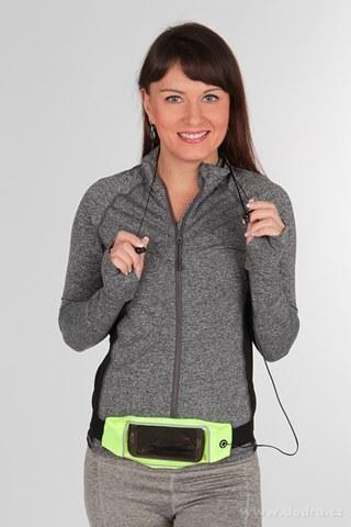 DA95102-Športové puzdro na mobil a osobné veci, zelené