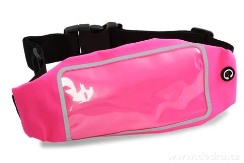 DA95103-Športové puzdro na mobil a osobné veci, ružové