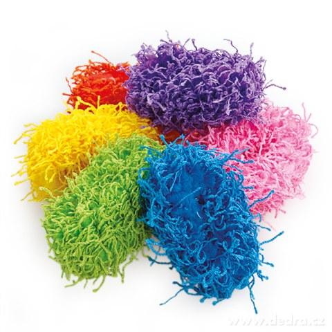 DA9548-6 ks povrázkové gumičky do vlasov elastickej farebné