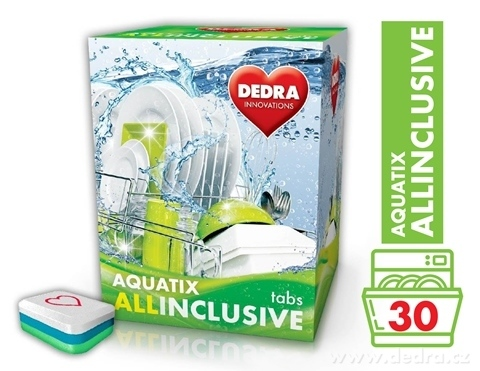 GC0455-AQUATIX ALLINCLUSIVE 30 TABS multifunkčné tablety do umývačky