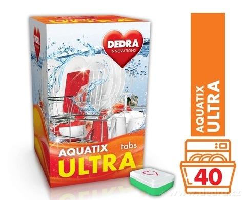 GC0457-AQUATIX ULTRA 40 TABS tablety do umývačky