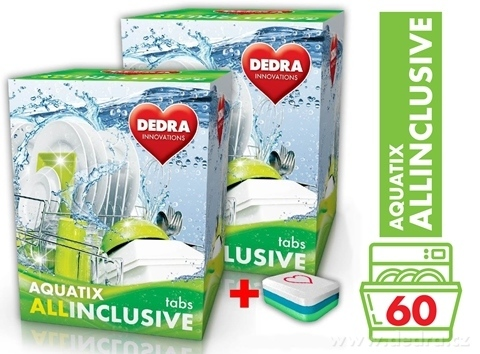 GC04553-AQUATIX ALLINCLUSIVE 60 TABS multifunkčné tablety do umývačky
