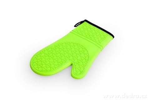 DA98234-SILICHŇAPKA silikónová chňapka jasne zelená