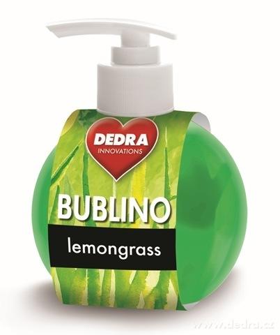 BB0177-Bublina lemongrass gél-krémové mydlo