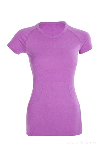 FC95271-Funkčné tričko dámske športové fialové