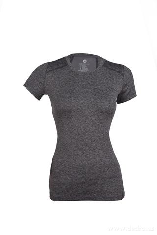 FC95361-Dámske tričko funkčné sivá melange (melír)