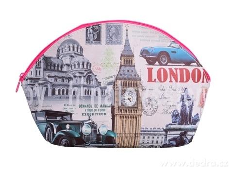 FC95732-Kozmetická taštička London car