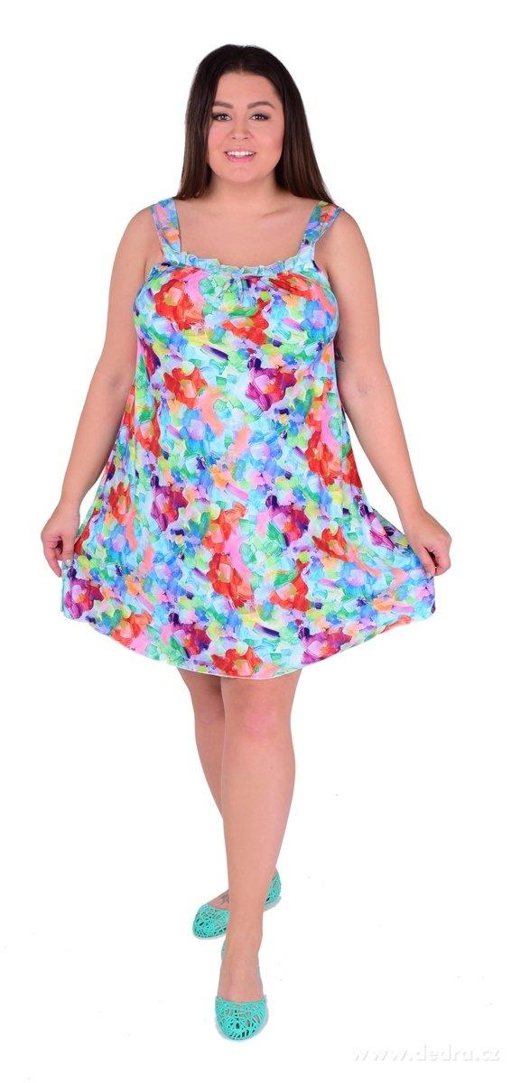 12684286ae5 ALICIA aquarelle flowers vzdušné šaty - Vaše DEDRA - oficiální stránky