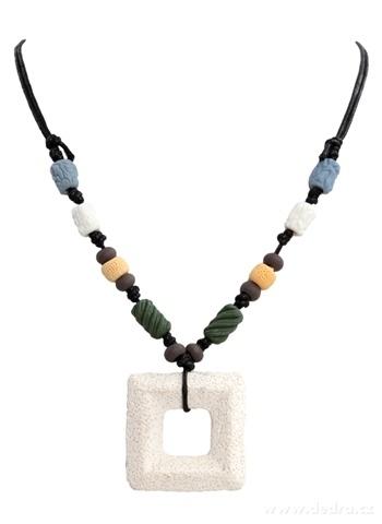 DA95722-NATURAL náhrdelník prírodné etno