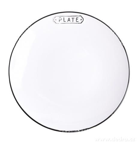 DA14991-Servírovací tanier PLATE priemer 19,5 cm