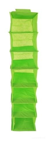 FC18831-Závesný úložný diel / organizér na oblečenie zelený
