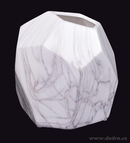FC18343-XL sklenená váza CUBISTICS mramor