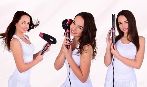 EL9961-3v1 automatická loknovačka + žehlička + sušič vlasov HAIR STYLER systémy