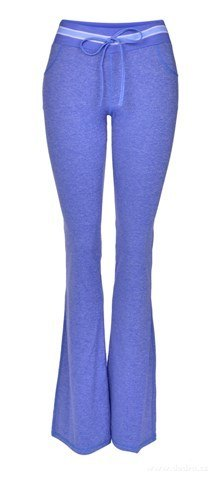 FC18181-Dámske nohavice športové modrá melange