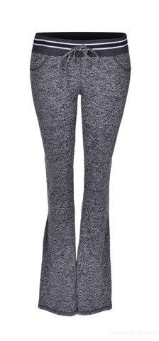 FC18171-Dámske nohavice športové šedá melange