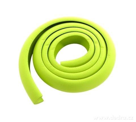 DA17502-Nárazníkovej PÁS na hrany nábytku dĺžka 2 m hráškovo zelený