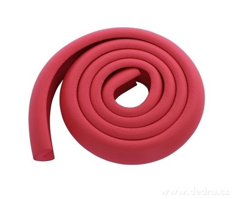 DA17492-Nárazníkovej PÁS na hrany nábytku dĺžka 2 m tehlovo červený